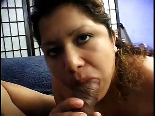Chubby Latina Embarazada Chupa Y Folla Con Gran Polla Negro