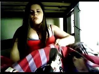 Chubby Co Ed En La Webcam