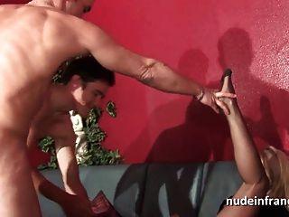 Abuela Sodomizada Dp Y Puño Follada