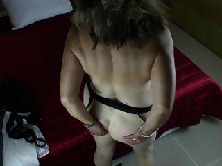 Abuela Rizada Con Muy Grandes Tetas Flacas