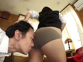 Japan Dama De Oficina Bottomless Facesitting Farting Hd Subtitle