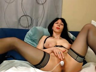 Hot 50 Años Milf Teasing On Webcam