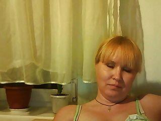 Caliente Mamá Rusa Madura Mamá Jugar En Skype
