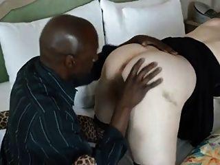 Bbw Esposa Tomar Un Bbc Para Su Culo (cornudo)