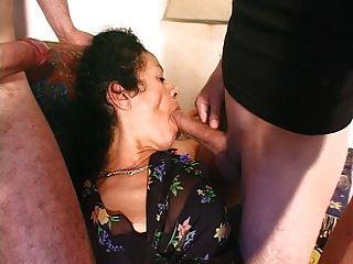 Lj95 Maria Mujer De Menage Portugaise Poilue Enculee