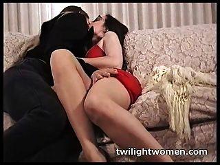 Lesbianas Twilightwomen Hacer La Seducción