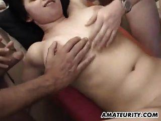 Busty Amateur Teen Girlfriend Gangbang Hecho En Casa Con Bukkake
