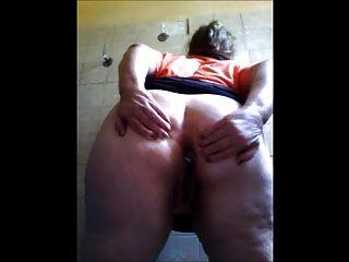 La Abuelita Gorda Se Masturba Para Mí