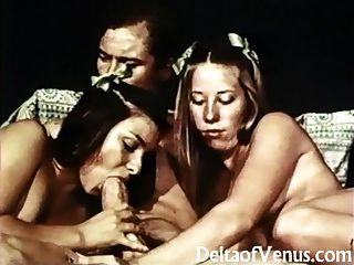 John Holmes Folla A Dos Chicas Scouts Porno De La Década De 1970