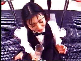 Chica Japonesa Bebe Mucho Cum
