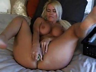 Webcam Agradable Rubia Madura Masturbación