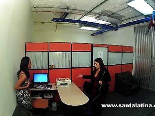 Spycam Atrapado Lesbianas Colombianas