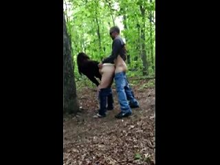Caliente Mierda # 205 En El Bosque Con Una Esposa Infiel (puma)