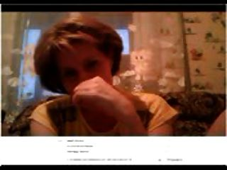 Ludmila Se Masturba En Skype