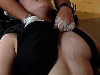 Brujas De Sappho Salón: Lesbianas Beso Y Mamada