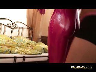 Spandex Sexo Con Mi Muñeca Real Flexi