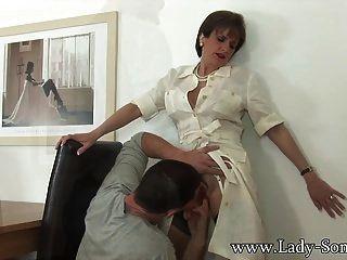 Lady Sonia Se Folla Por El Empleado Maridos