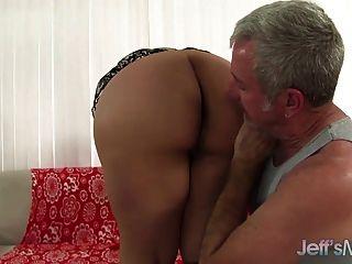Estilo Del Perro Del Sexo Del Plumper