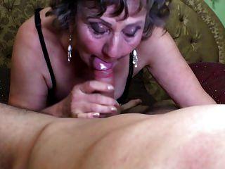 Sexy Mamá Chupar Y Joder Joven