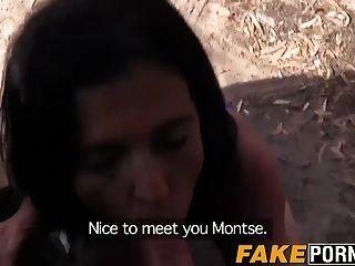 Gran Culo Maduro Montse Railed By Cop