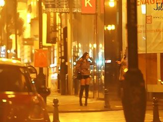 Prostituta Real En La Calle Pute Dans La Rue