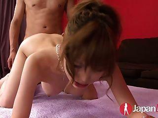 Tetona Japonés Adolescente Doble Creampie