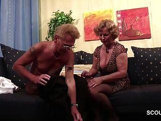 Pareja De Ancianos Alemana En La Primera Vez Porno Casting Juego De Roles