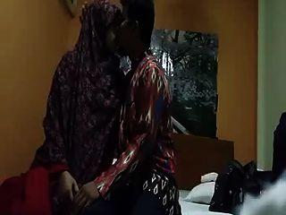 Indonesio Jilbaber Se Casó Con La Pareja Parte 1