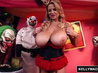 Kelly Madison Loco Payaso Coño
