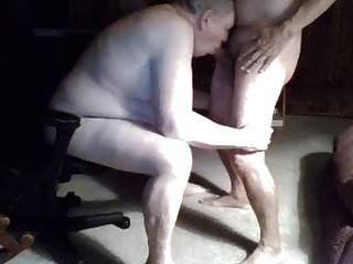 Abuelo Chupa En La Webcam
