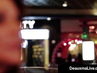 Busty Texas Puma Deauxma Folla A Su Tipo De Servicio De Habitación De Hotel!