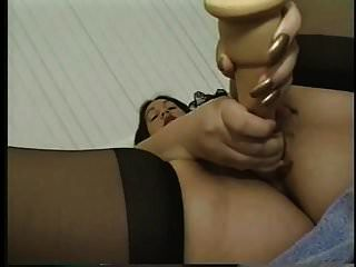 Gordita Morena Lencería Interracial Follando