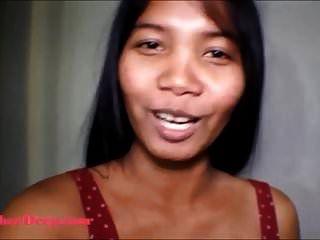 20 Semanas De Embarazo Adolescente Tailandés Heather Deepthroats Whip Cre