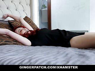 Gingerpatch Pelirroja Paso Hija Y Madrastra Follan Cada Ot