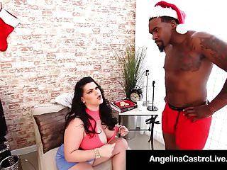 Cubana Bbw Angelina Castro Folla Santa Y Su Gran Polla Negra!