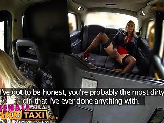 Mujer Falso Taxi Insaciable Caliente Tetona Rubias Taxi Joder