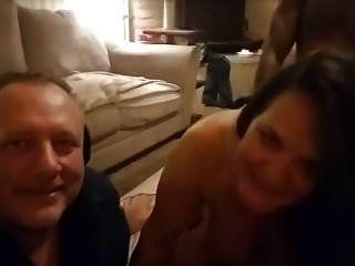 Esposa Bbc Doble Penetrada Marido Viendo
