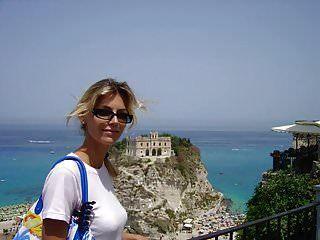 Esposa Delgada Y Alegre Vacaciones