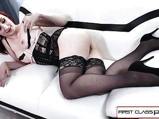 Firstclasspov Violet Monroe Toma Una Gran Polla En Su Garganta