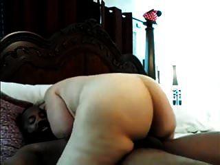 Phat Madura Rubia Montando Gran Polla Negra Hasta El Orgasmo
