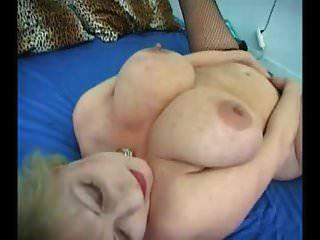 Abuelita Grande Saggy Tits Medias Follada