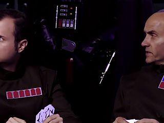 Vívido Parodia Vader Muestra A Leia El Poder Del Lado Oscuro
