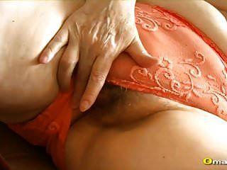 Omapass Extra Viejo Peluda Granny Pussy Toying