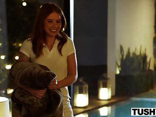 Tushy Hot Hotel Mucama Obtiene Culo Dominado Por Una Pareja De Poder