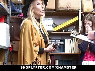 Shoplyfter Lp Officer Aprovecha A Grandma Y Grandma