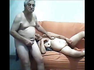 Pareja De Sexo Viejo