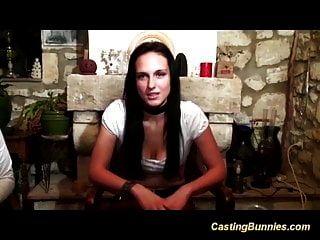 Chicas Francesas Primer Casting Anal
