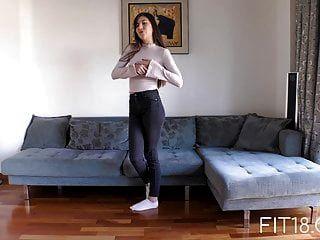 Fit18 Anya Krey 53kg 173cm Adolescente árabe Ama Las Arcadas
